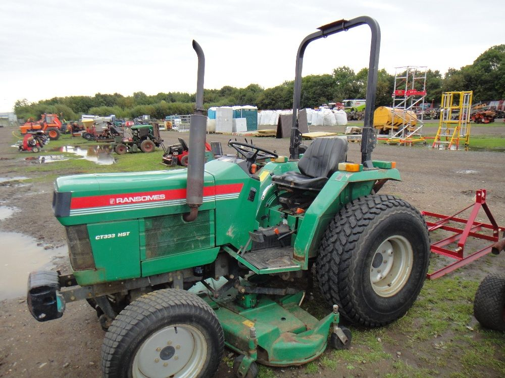 Fordson Dexta Tractor Fenders : Ransomes ct tractor tractors miscellaneous