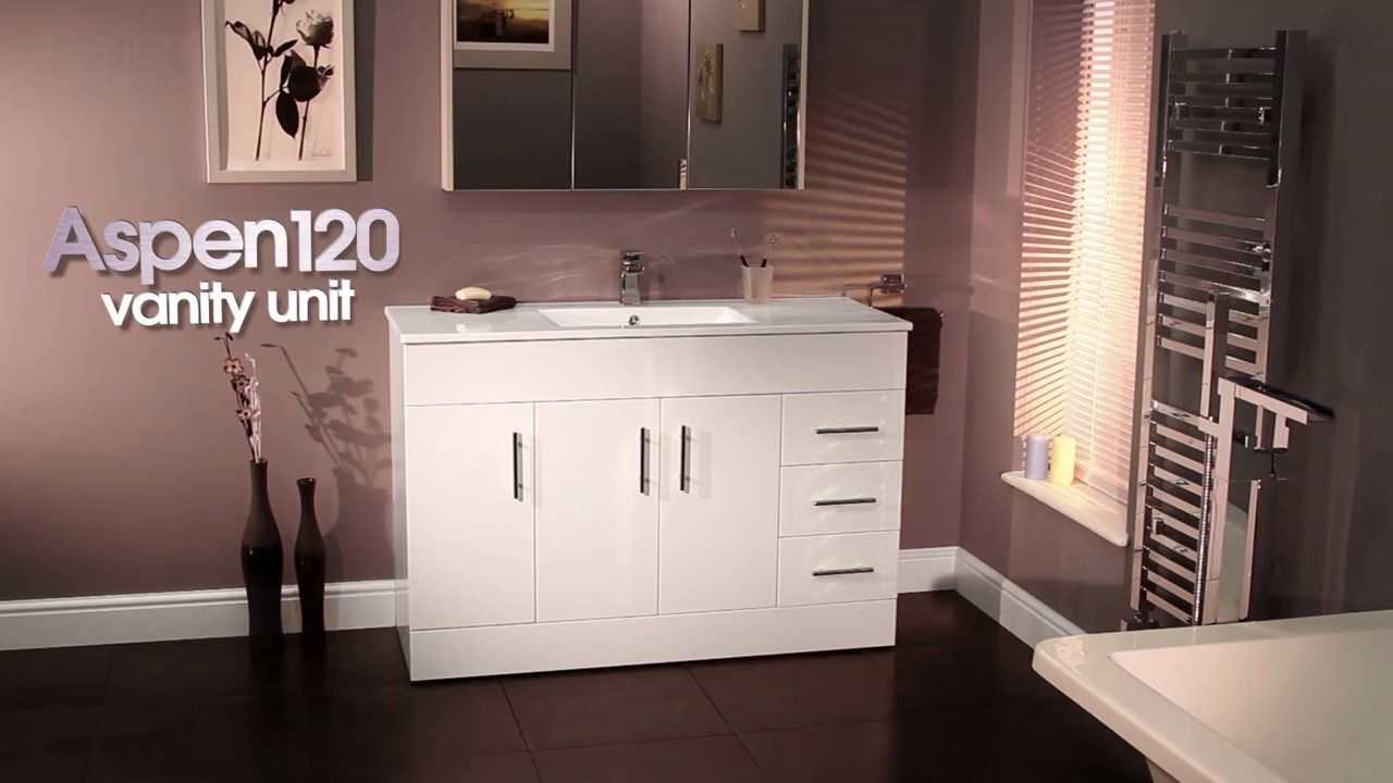 Wistia Video Thumbnail Aspen 120cm Vanity Unit Bb 7909