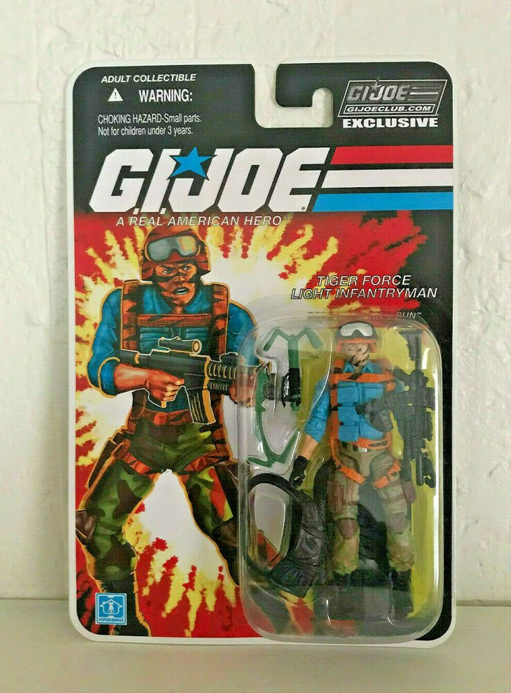 G.I.JOE EXCLUSIVE CLUB FSS The FINAL 12 TIGER FORCE LIGHT INFANTRY HIT /& RUN