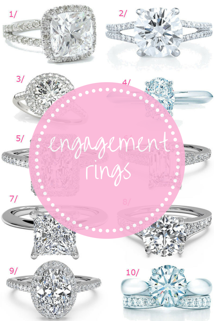 10 Swoon-Worthy Engagement Rings | Engagement, Ring and Diamond