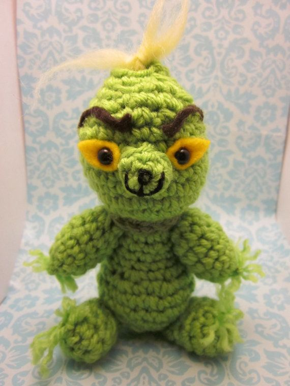 Dr. Seuss Inspired The Grinch Who Stole Christmas by SpudsStitches ...