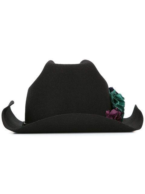floral trim tango hat - Black Golden Goose xBQ4ybtcpw