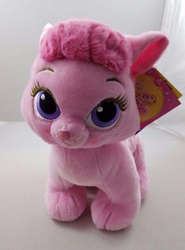 Nwt Build A Bear Disney Princesses Palace Pets Beauty Stuffed Pink