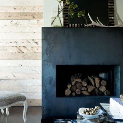 modern farmhouse fireplace design pictures remodel decor and ideas page 6 po les inserts. Black Bedroom Furniture Sets. Home Design Ideas