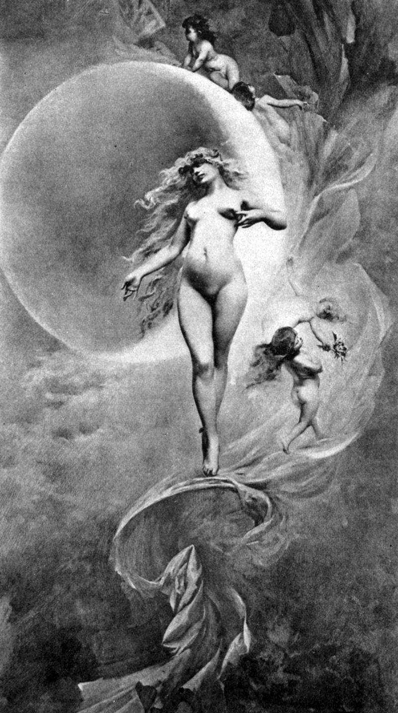 Na Era Vitoriana, astronomia e nudez passou de mão em mão [NSFW]