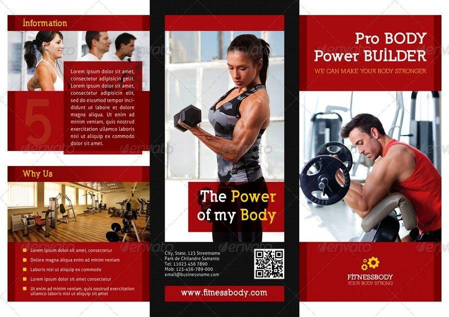 #affiliate #brochure #fitness #bundle #3fold #fold #in #3 #13 in 1 Fitness 3-Fold Brochure Bundle3 i...