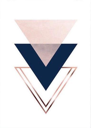 Cute But Simple Triangle Wallpaper Follow Me Anna2023147 Sfondi Iphone Sfondi Per Iphone Carta Da Parati Dorata