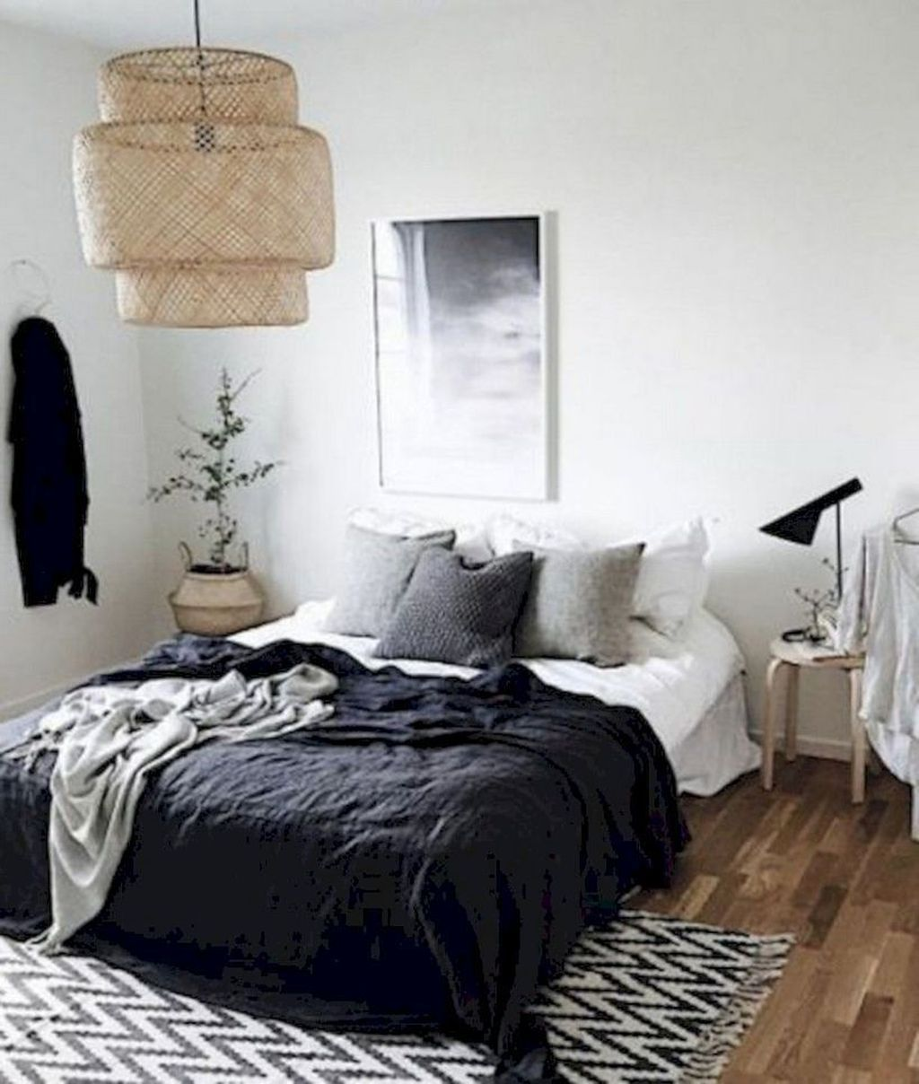 36 Amazing Rustic Scandinavian Bedroom Decor Ideas Bedroom Design Trends Minimalist Bedroom Design Bedroom Interior