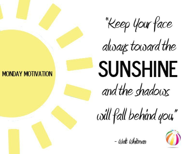 Monday Metavators: I've Got Sunshine... On A Sunny Day. Let's Do This