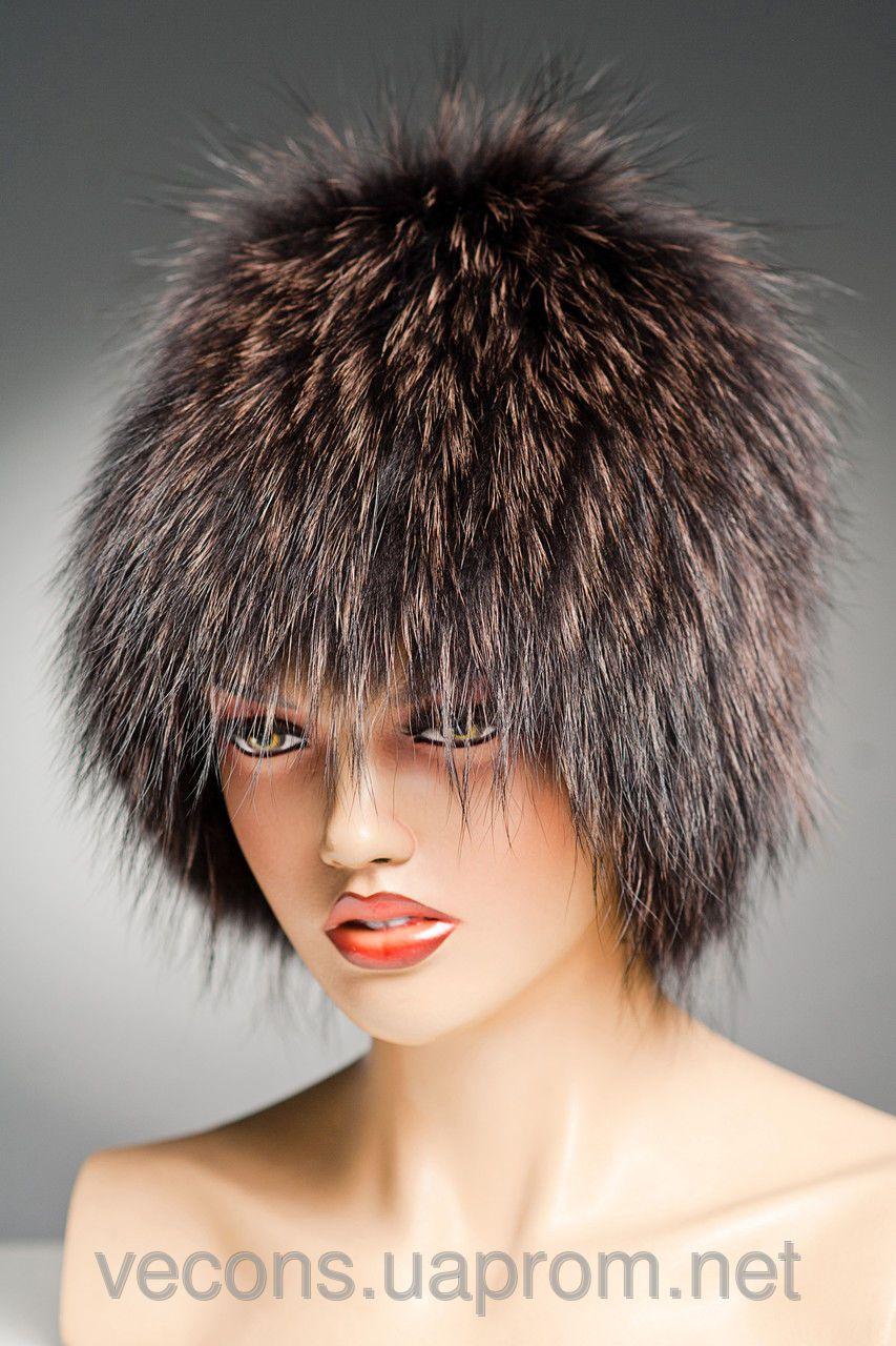 8289cbd3c877 Меховая шапка Кубанка из Енота (коньяк) | Old Time | Мужская шапка ...