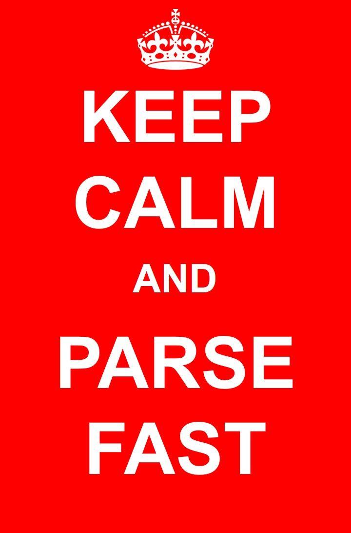 Just keep calm and #parsefast Daxtra CV / Resume parsing - resume parsing