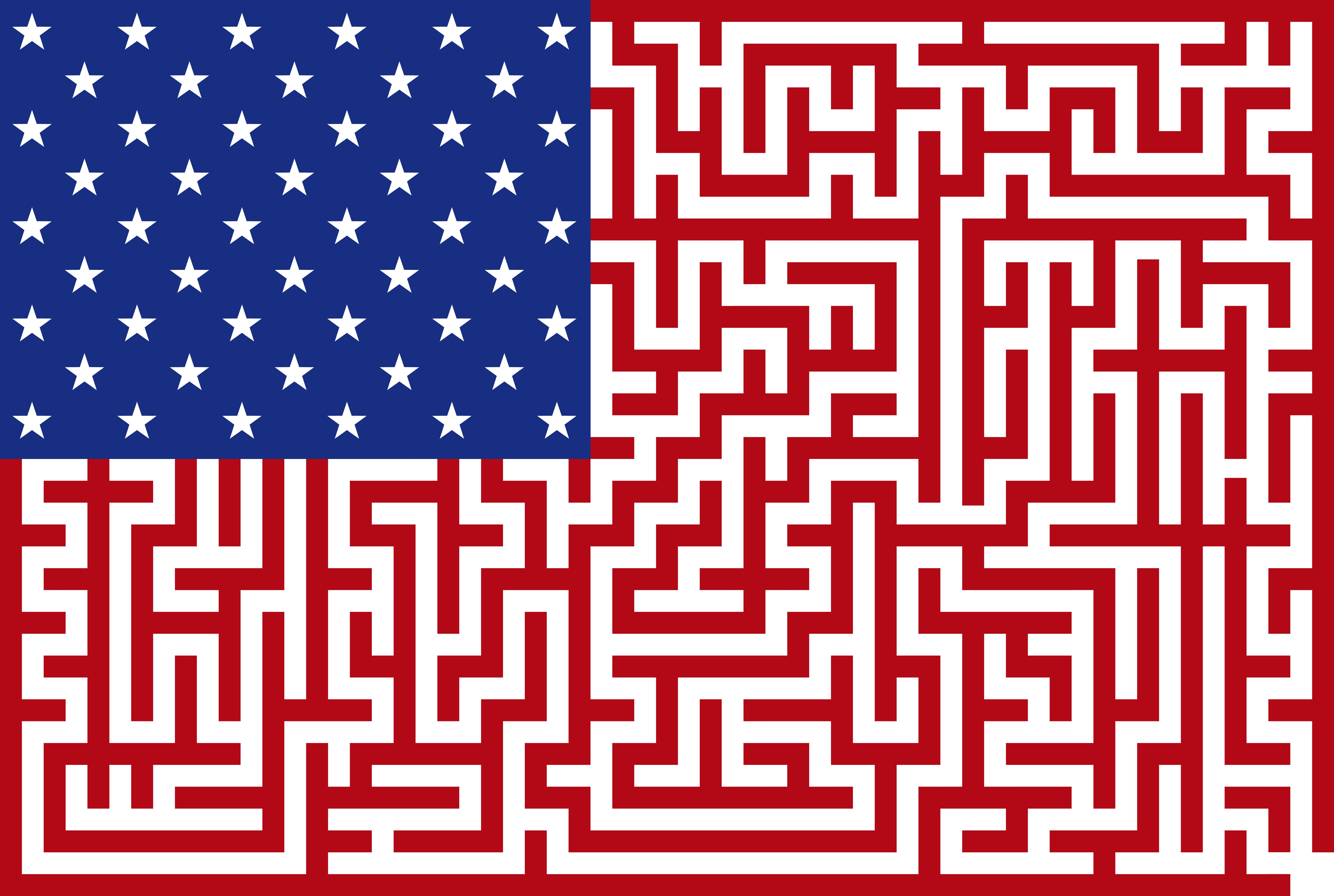 Free Fun Educational And Patriotic Printable Maze For