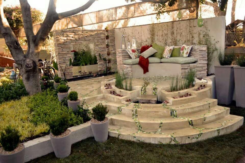 Outside entertainment area | Home decor, Diy home decor ... on Garden Entertainment Area Ideas id=85070