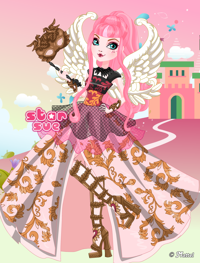 Ever After High Thronecoming C A Cupid Dress Up Game Ever After High Cupid Ever After High Games
