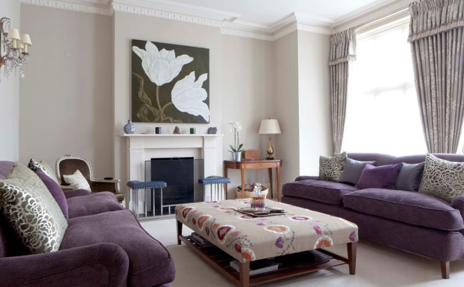 How To Match A Purple Sofa To Your Living Room Decor Purple