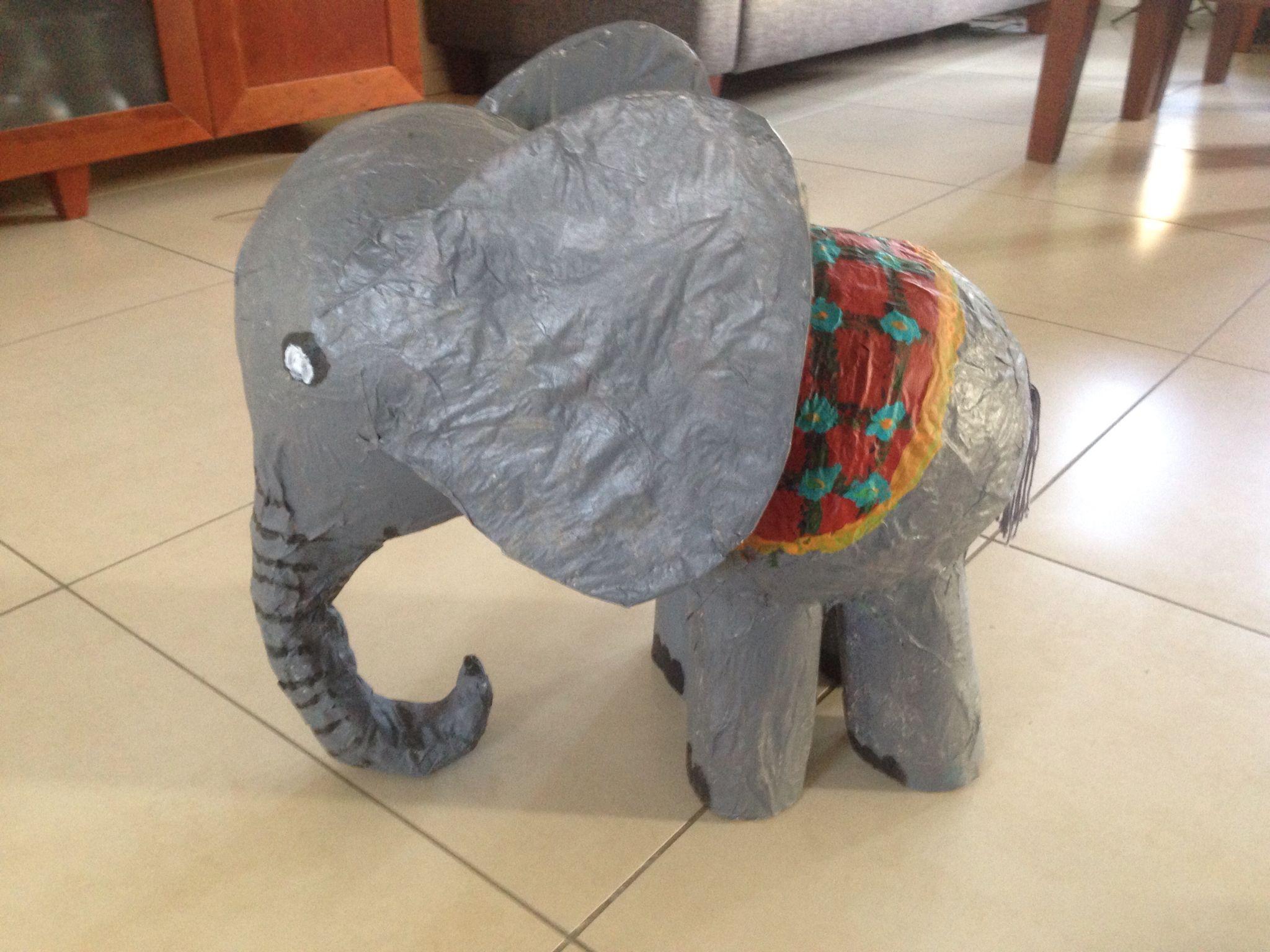 Papier Mache concernant olifant knutselen van papier mache.   knutselen   pinterest
