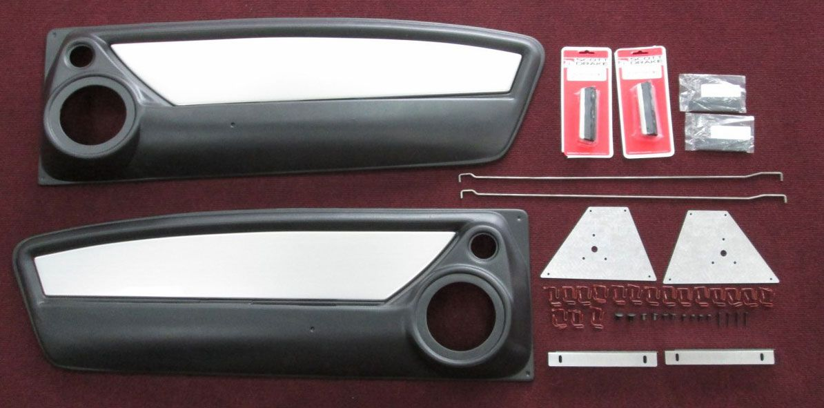 65 66 67 68 Mustangs To Fear Door Panels Custom Mustang Fastback