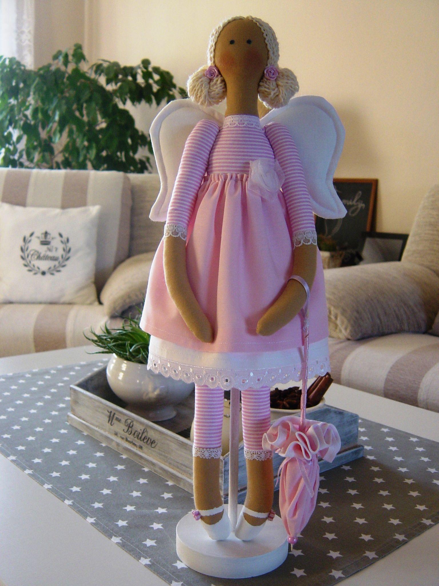 Ružový anjel