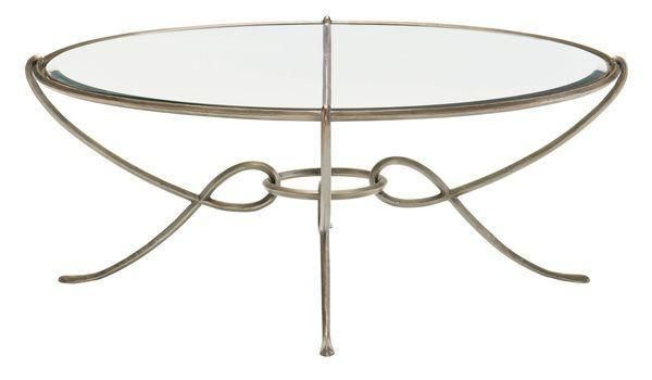 Bonita Round Metal Cocktail Table Table Cocktail Tables
