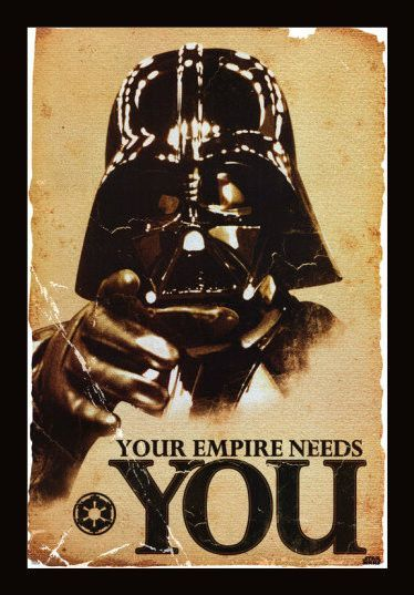 Star Wars Your Empire Needs You 24x36 Flm56054