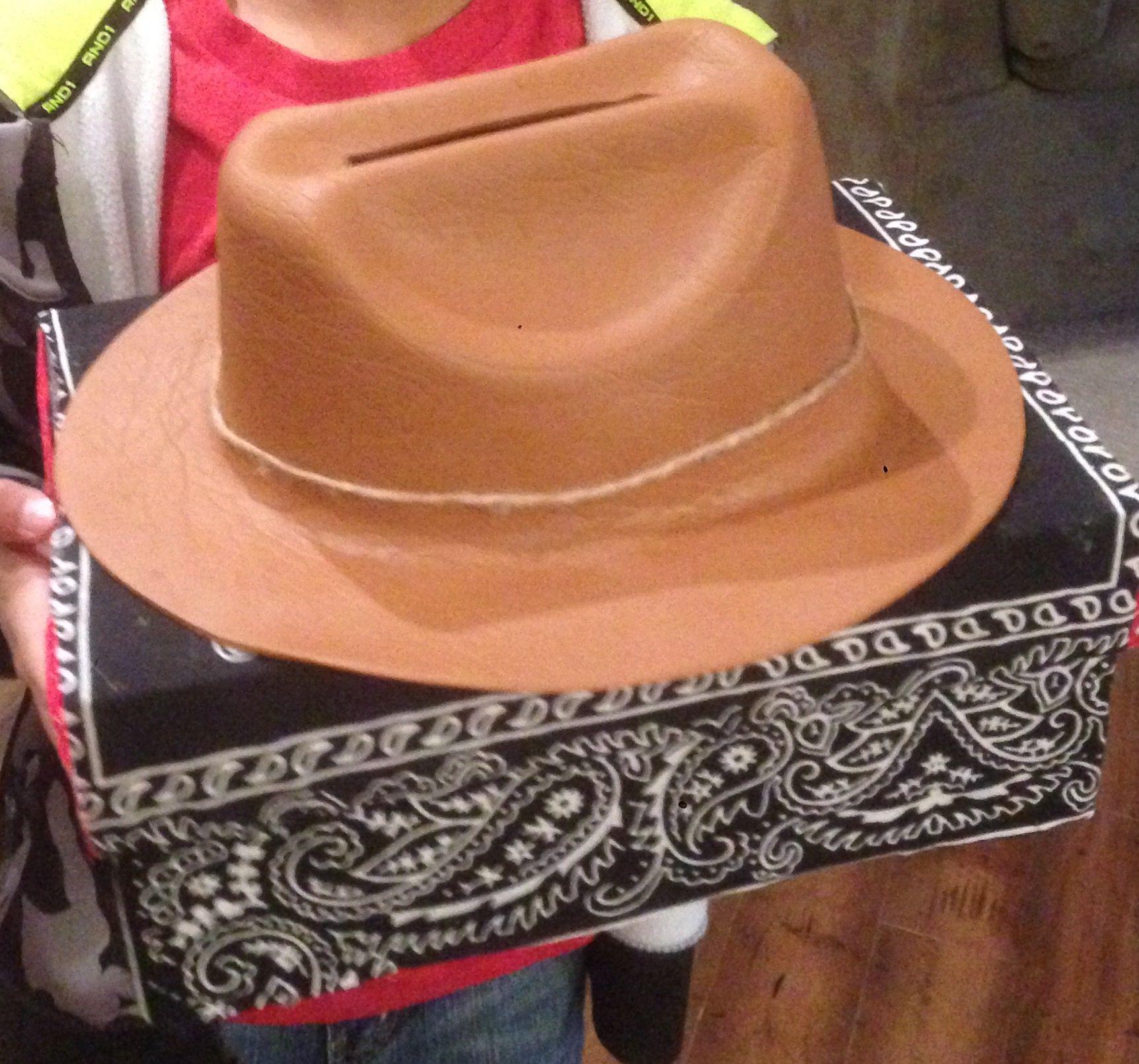Cowboy Hat Valentine Day Box Cowboy Valentines Valentine Day Boxes Valentine Box