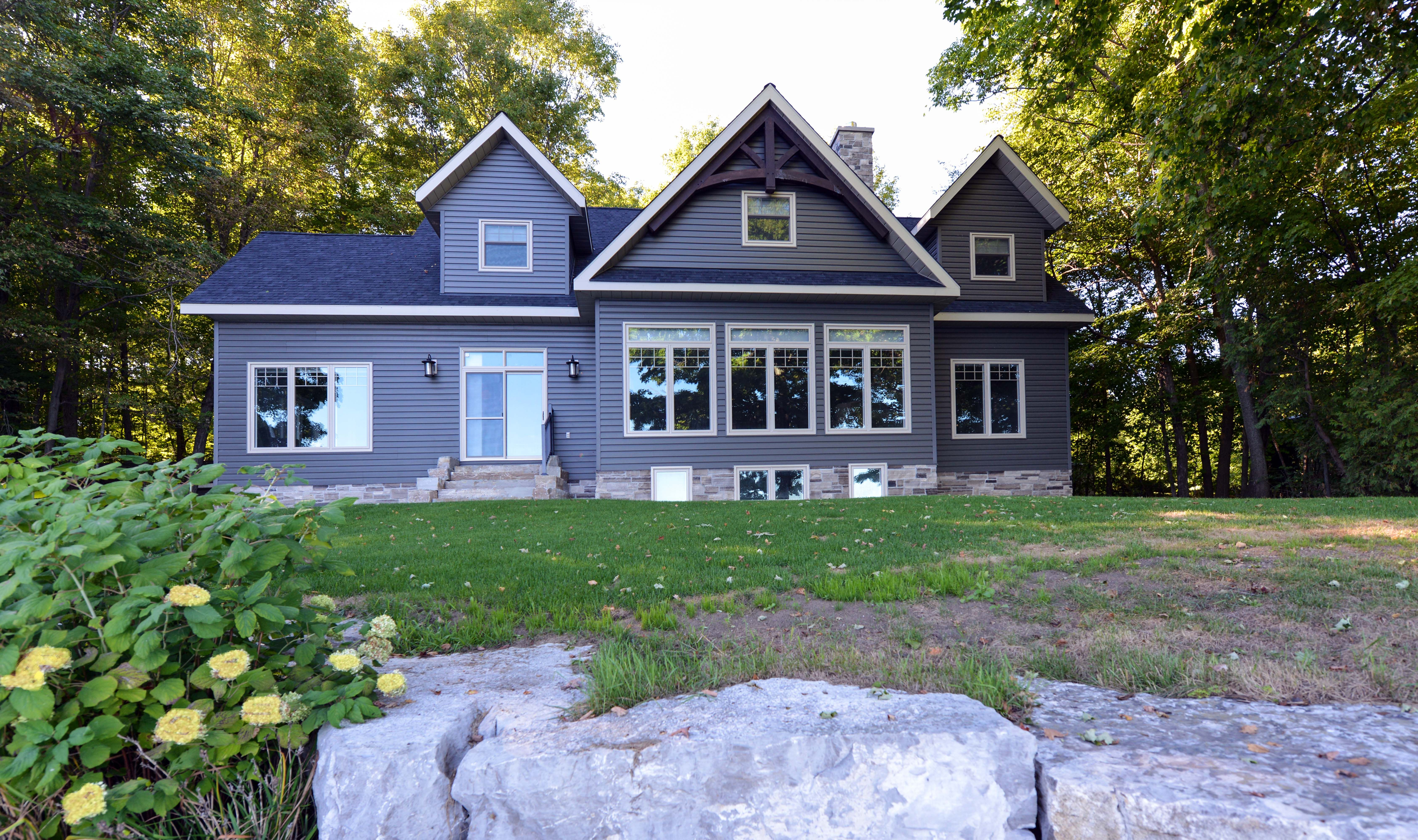 Infinity fine homes inc renovated this home in balsam lake ontario