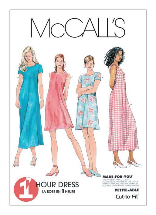 M6102 | McCall\'s Patterns | Dibujo moda | Pinterest | Dibujo