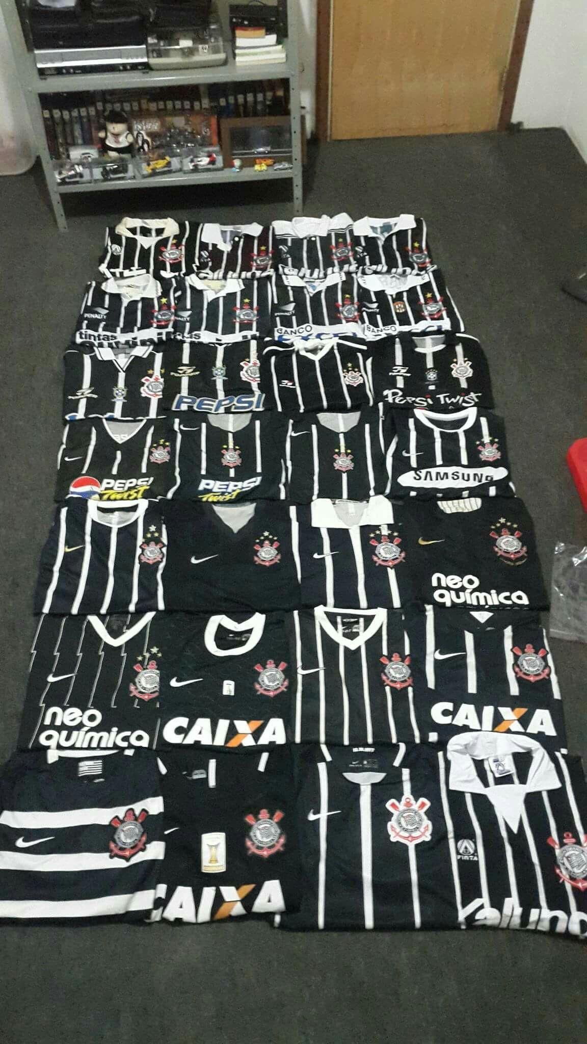 Coleção De Camisas Roupa Do Corinthians Camisas Do