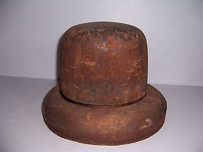#Antique #tangalakis chicago millinery wood hat #block mold brim form 6, 7 1/4, 2,  View more on the LINK: 	http://www.zeppy.io/product/gb/2/191730112257/