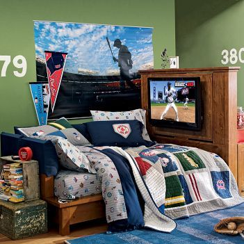 Boys Bedroom Ideas Baseball