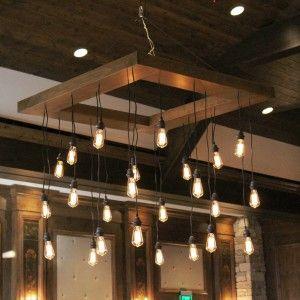 Edison Bulb Chandelier Home Light Bulb Chandelier