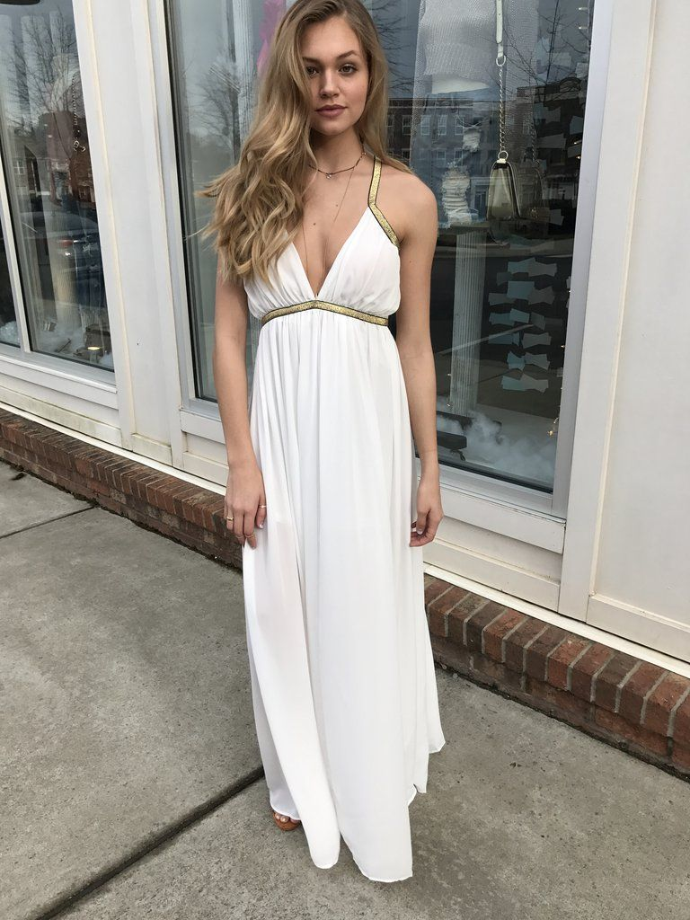 Grecian Goddess Maxi Dress – Swoon Boutique | SWOON Swag. | Pinterest