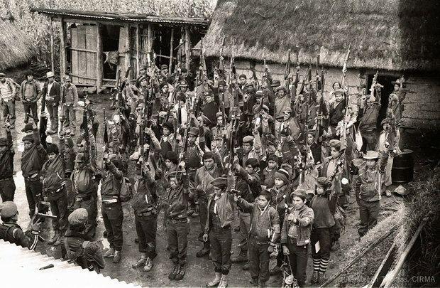 Resultado de imagen de ejército guerrillero de los pobres