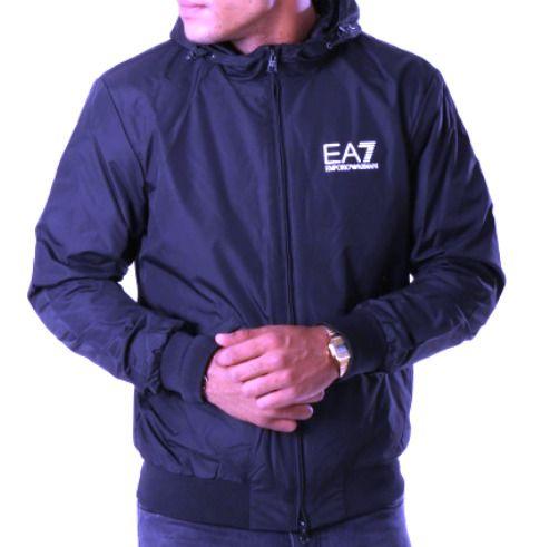 EA7 Emporio Armani 7 EA 6ZPB35 Veste Blouson Blouson Blouson Homme Bleu  (eBay Link) e068305df1b