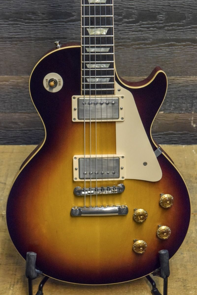 2011 Gibson 1958 Les Paul Standard Reissue R8 Faded Tobacco Vos Epi Vs Selector Switch Mylespaulcom Guitar W Case Ebay