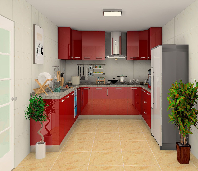 High Gloss Kitchen Cabinet Design Bedroom Wardrobe Design From Daban Custom Kitchen Cabinets Kitchen Cabinets High Gloss Kitchen Cabinets