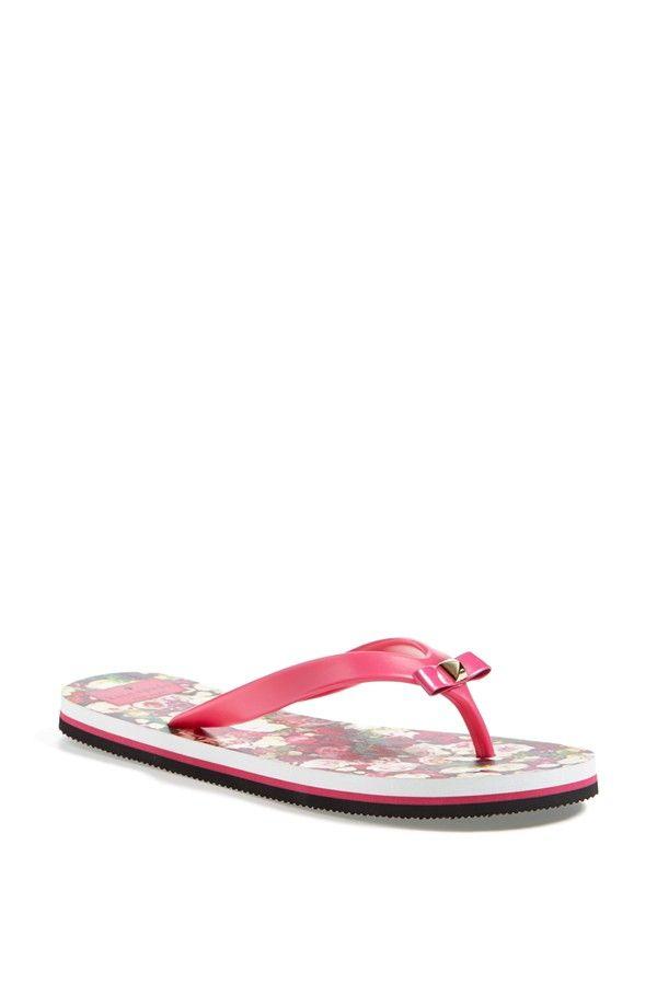 be44a1fe6658 Kate Spade pink flip flop