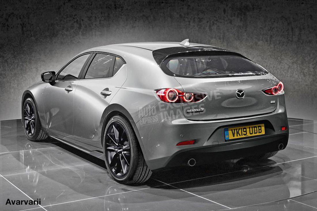 2020 Mazda 3 Images Leak Price In 2020 Mazda Mazda 3 Mazda Hatchback