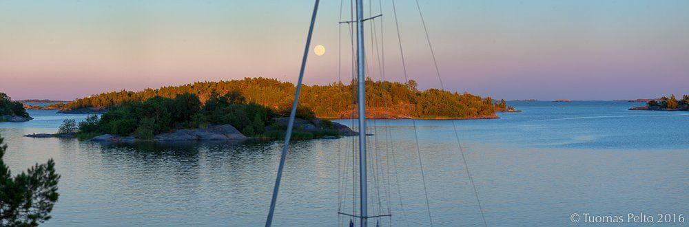 """Tuomas Pelto Twitterissä: """"#täysikuu #ahvenanmaa #åland #visitfinland #lokistories #thisisfinland #purjehdus #sailing #segling https://t.co/Zi665EjOF5"""""""