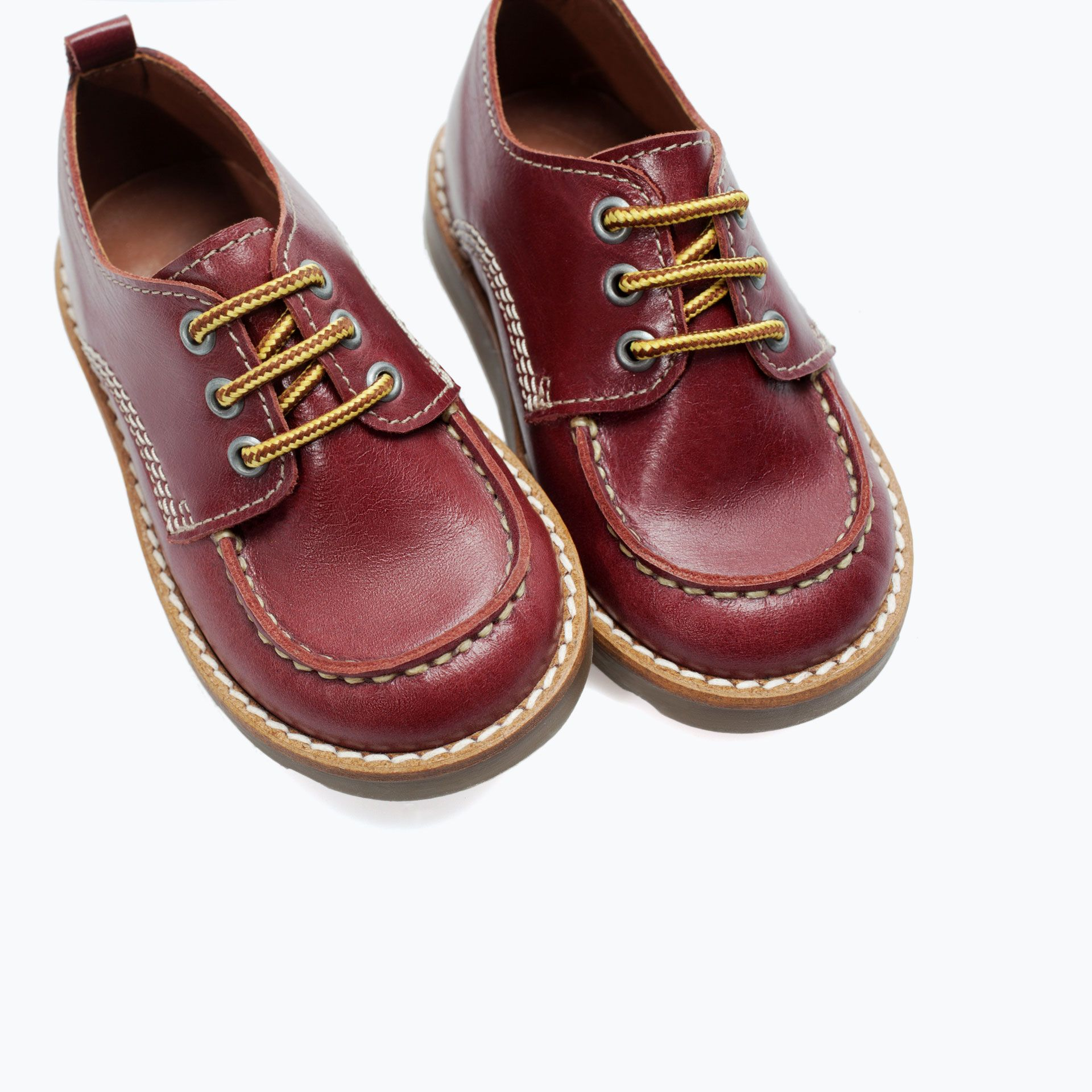 LEATHER SHOES from Zara for cub Pinterest