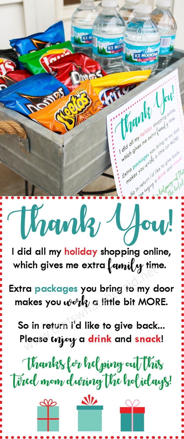 Say thank you to all the amazing delivery drivers this holiday ...