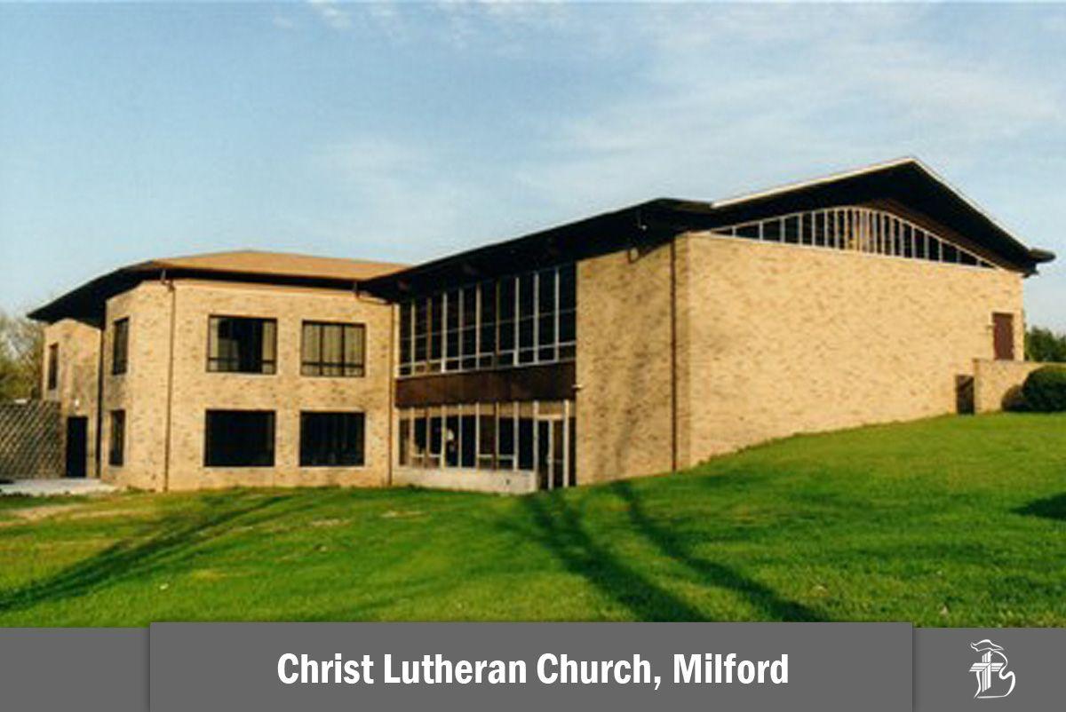 Christ Lutheran Church In Milford Michigan Milford Church Lutheran Church