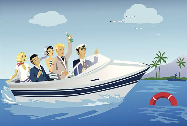 Image Result For Cartoon Man On A Yacht With Images Cartoon