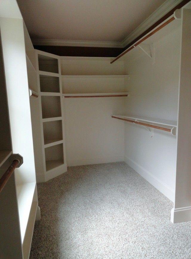 Corner Closet Shelves Diy Easy Closet Shelves Closet Shelves