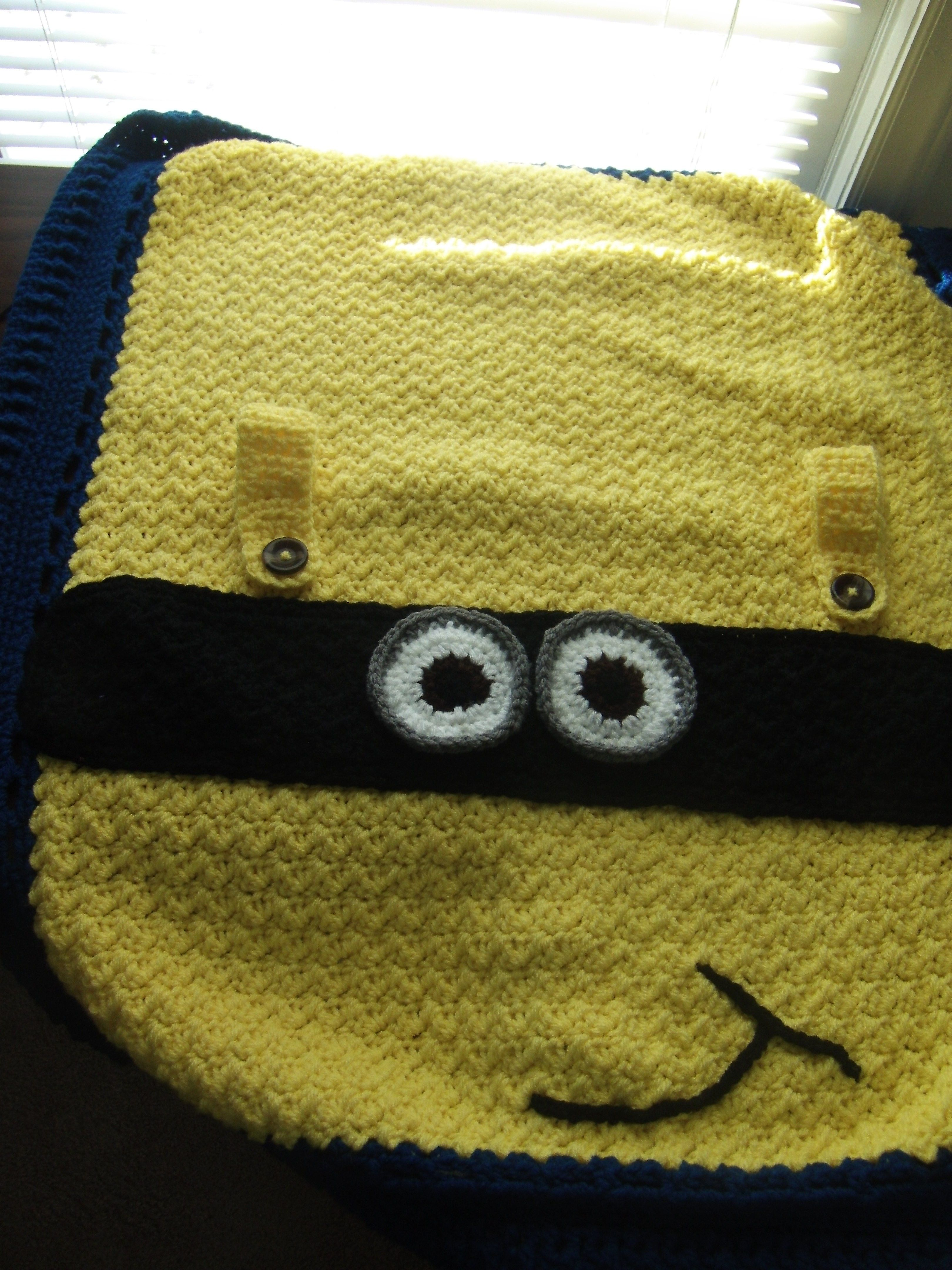 Minion Care Seat Cover | Crafts by Tori | Pinterest | Stricken