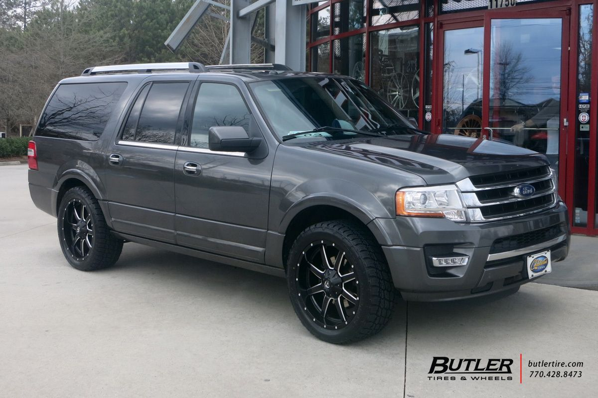 Ford expedition with 22in fuel maverick wheels