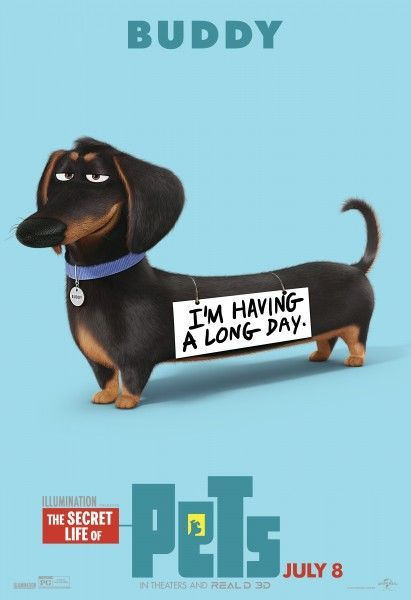 Animated Animal Posters Pets Movie Secret Life Of Pets Secret Life