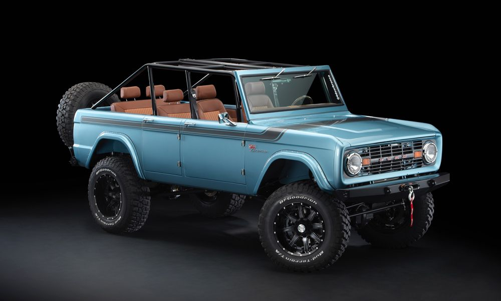 Maxlider 1966 4 Door Ford Bronco Four Horseman Custom Ford