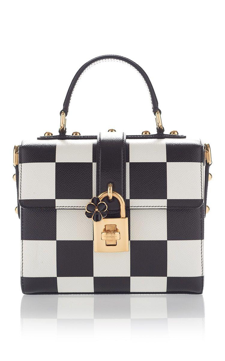 717969edd9 Check Shoulder Bag by DOLCE   GABBANA for Preorder on Moda Operandi