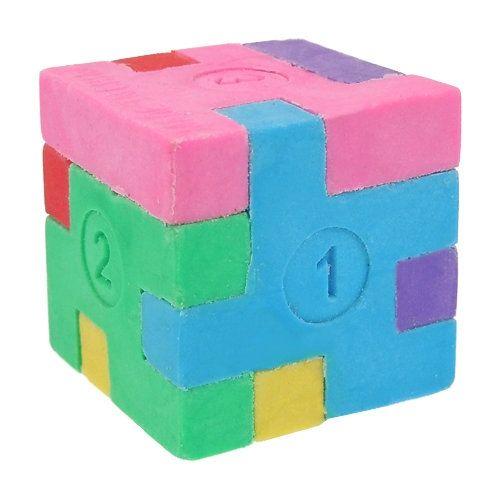 Puzzle Eraser - Cube   Interesting      Cube, Unique office supplies